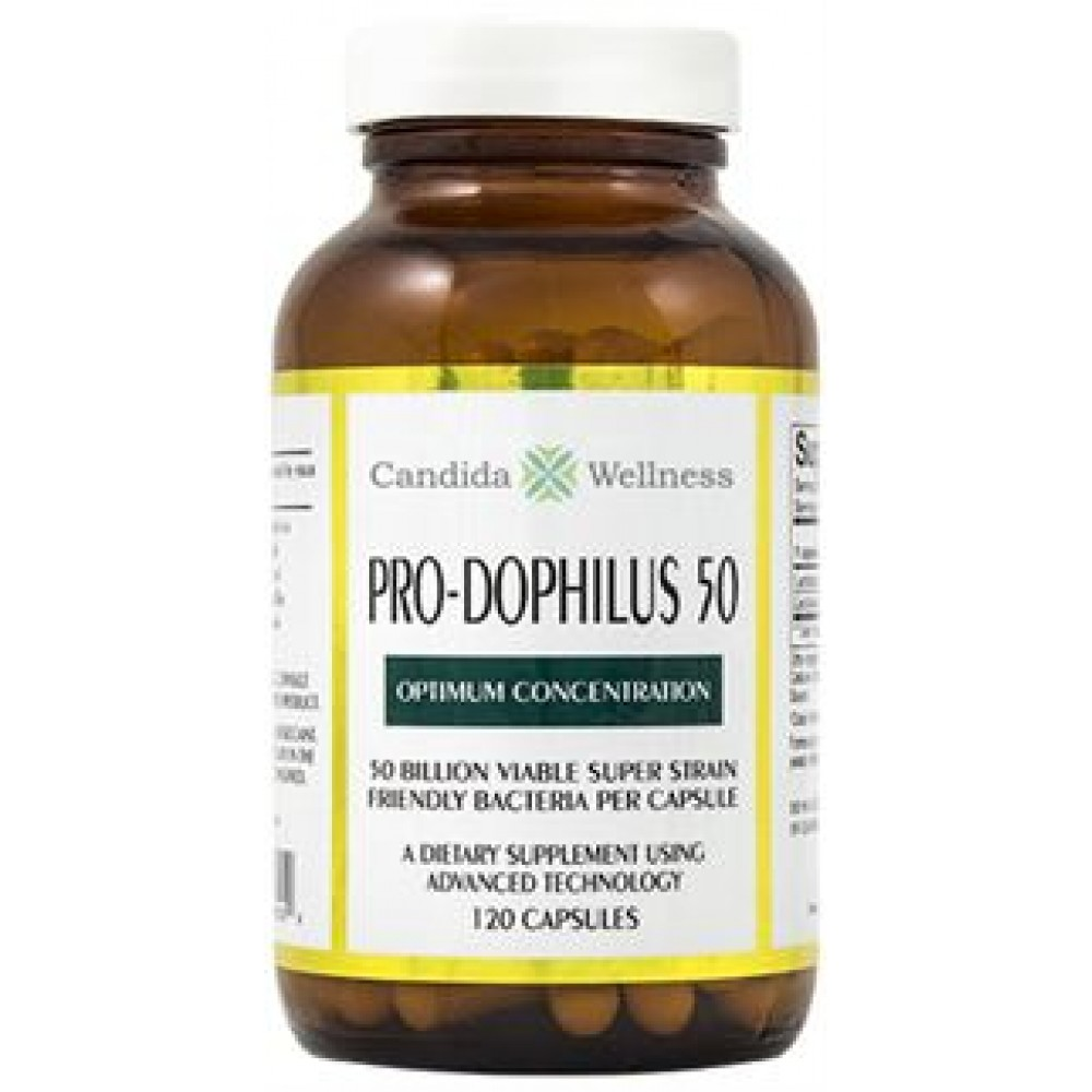ProDophilus 50 120 Caps (REFRIGERATION REQUIRED)