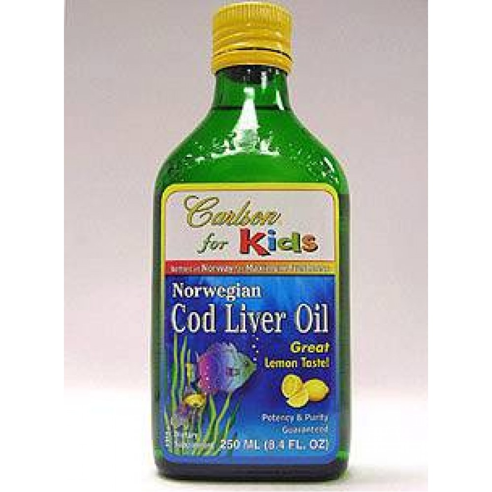 Carlson Kids Cod Liver Oil 250 ML