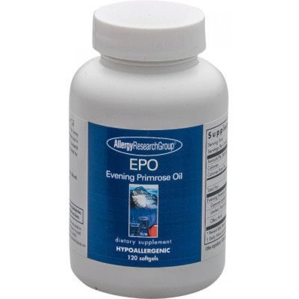 EPO Evening Primrose Oil 120 Softgels