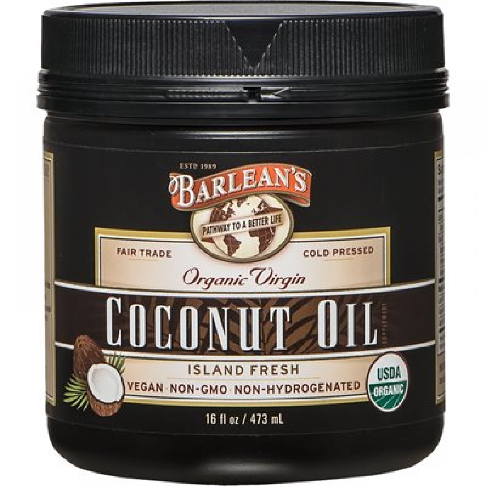 Coconut Oil Organic Virgin 16oz